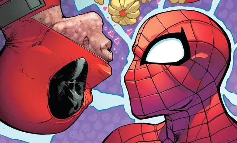 Deadpool Spider-Man Crossover