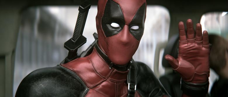Deadpool test behind the scenes