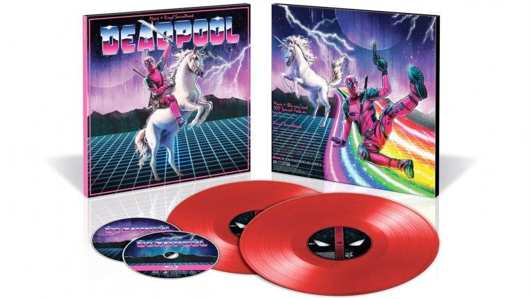 Deadpool Vinyl Comic-Con Exclusive