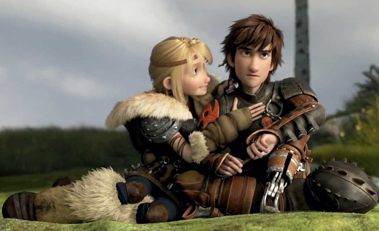 How to Train Your Dragon 2 - Hiccup and Astrid