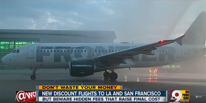 frontier airlines and discount movie theaters