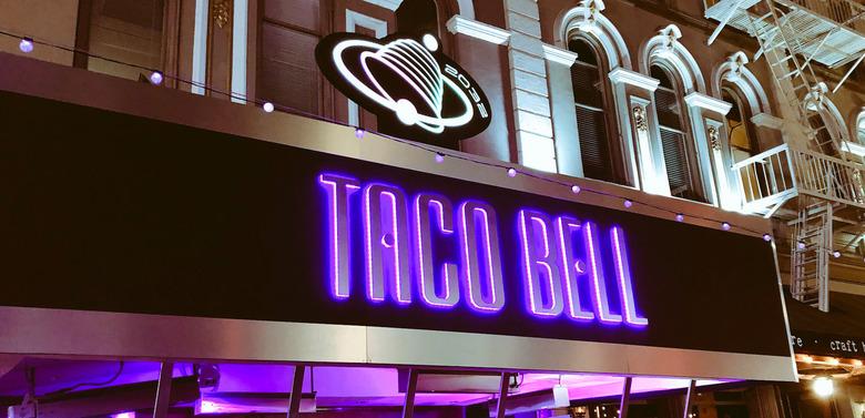 Demolition Man Taco Bell