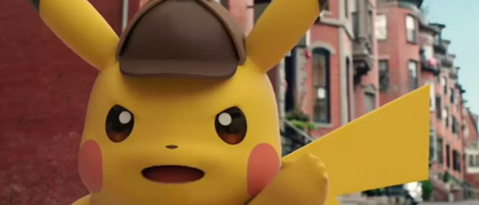 Detective Pikachu movie cast