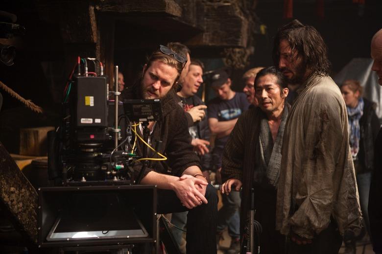 Director Carl Erik Rinsch on 47 Ronin set