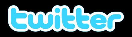 twitter logo big black