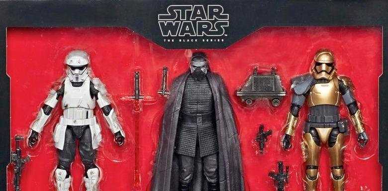 Disney Parks exclusive Star Wars Black Series actions figures