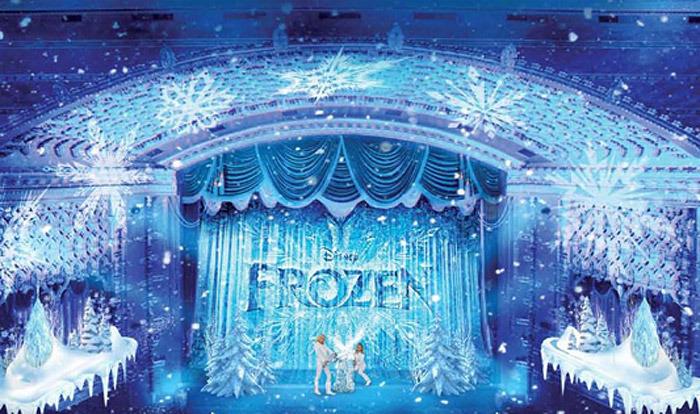 disneyland frozen musical