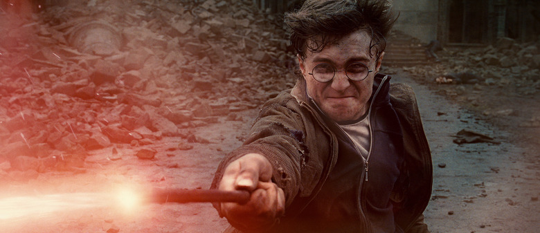 harry potter video game ride