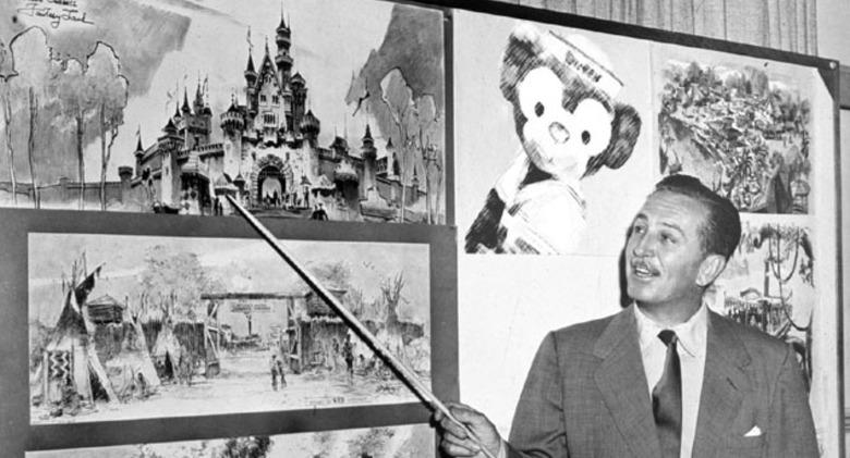 Walt Disney and Disneyland tv series