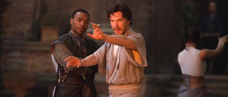 Doctor Strange (Benedict Cumberbatch) and Mordo (Chiwetel Ejiofor)