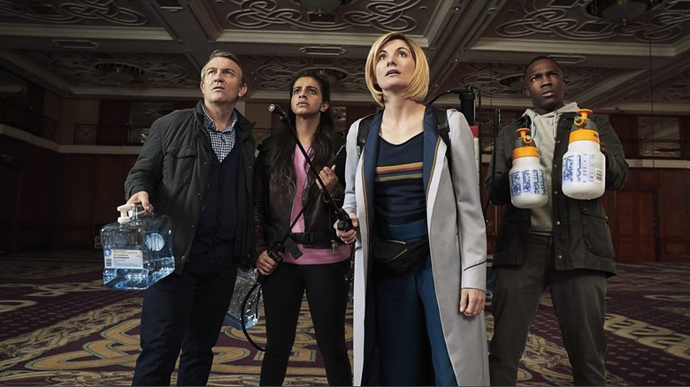 doctor who arachnids in the uk review