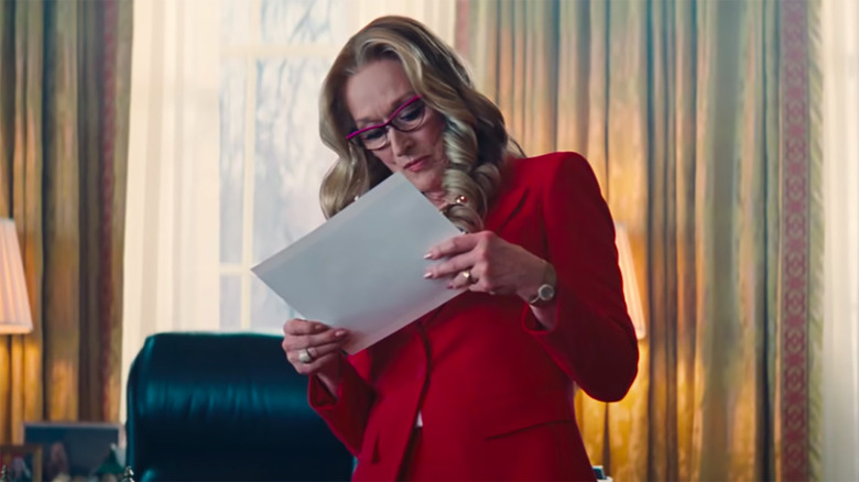 Don t Look Up Clip: Meryl Streep Puts A Positive Spin On The End Of The World