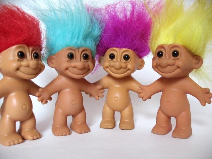 Trolls dolls