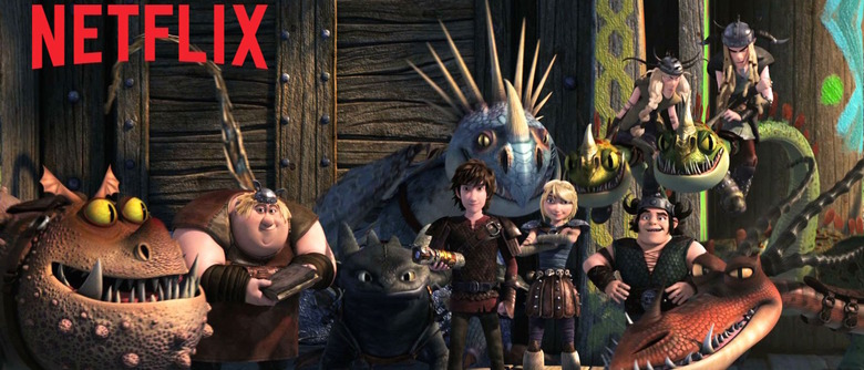 DreamWorks Dragons Race to the Edge trailer