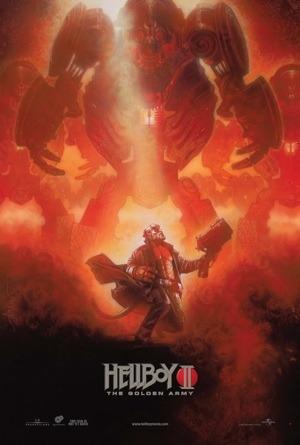 Drew Struzan's Hellboy II: The Golden Army New York Comic Con Exclusive Movie Poster