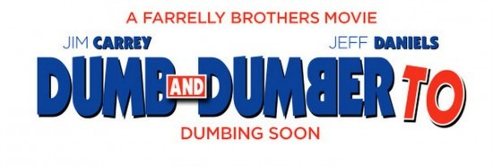 Dumb and Dumber To poster Logo