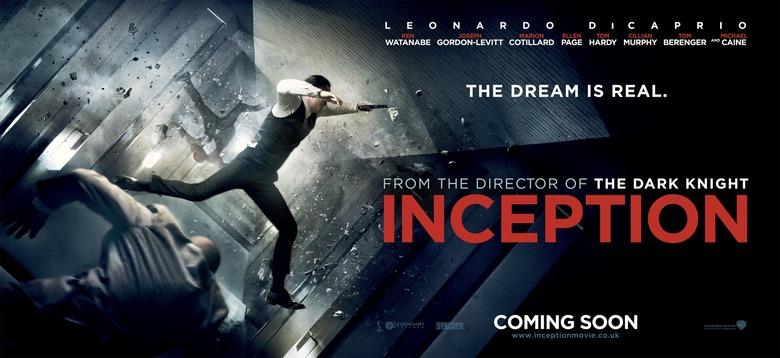 Christopher Nolan's Inception Banner