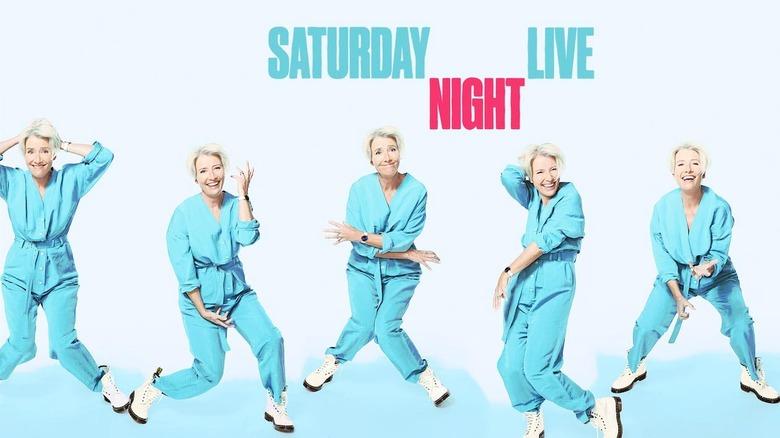 Emma Thompson Hosted Saturday Night Live