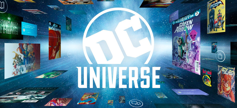 Entire DC Comics Library on DC Universe