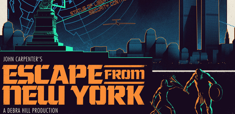 Escape from New York Print