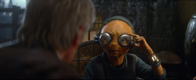 Star Wars The Force Awakens maz kanata