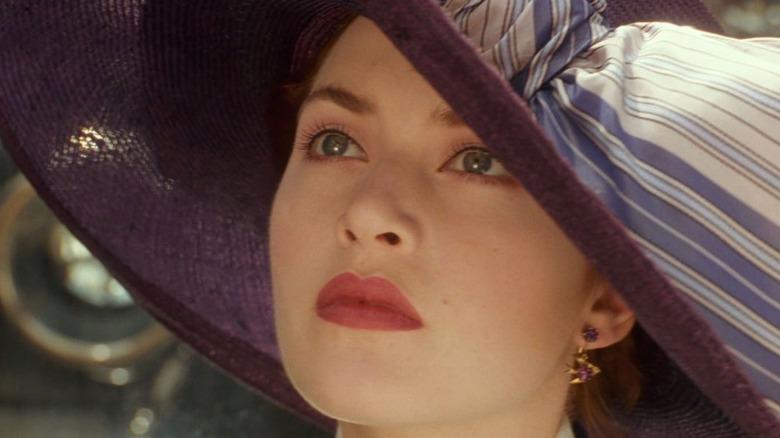 Kate Winslet Titanic Big Hat