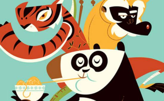 Kung Fu Panda - Dave Perillo header