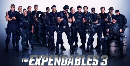 expendables 3 gag reel