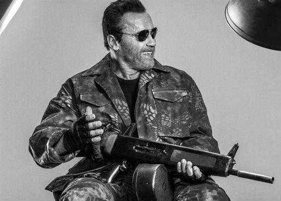 Expendables 3 trailer Schwarzenegger