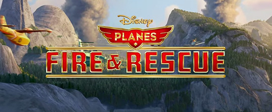 extended Planes: Fire and Rescue trailer