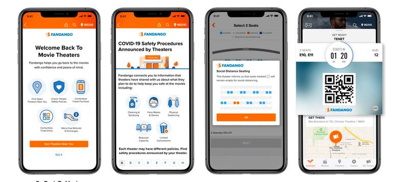 Fandango COVID-19 Safety Procedures