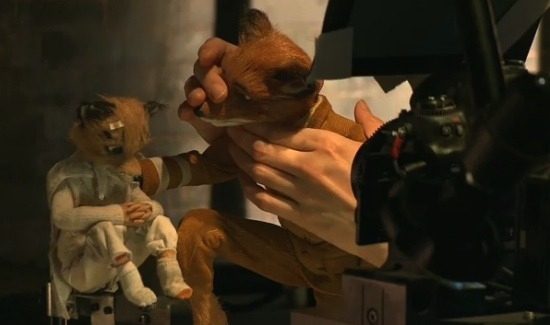 Fantastic Mr. Fox Behind the scenes