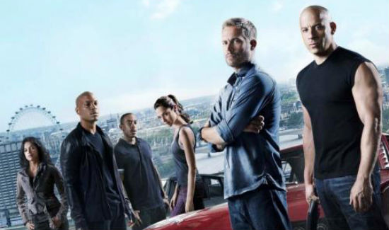 Fast and Furious 6 poster header