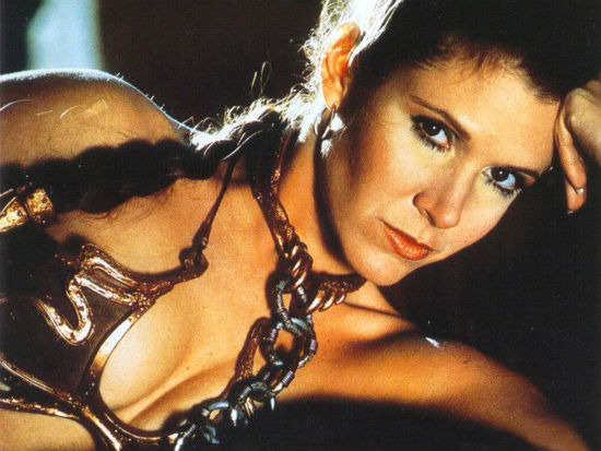 Slave Leia video