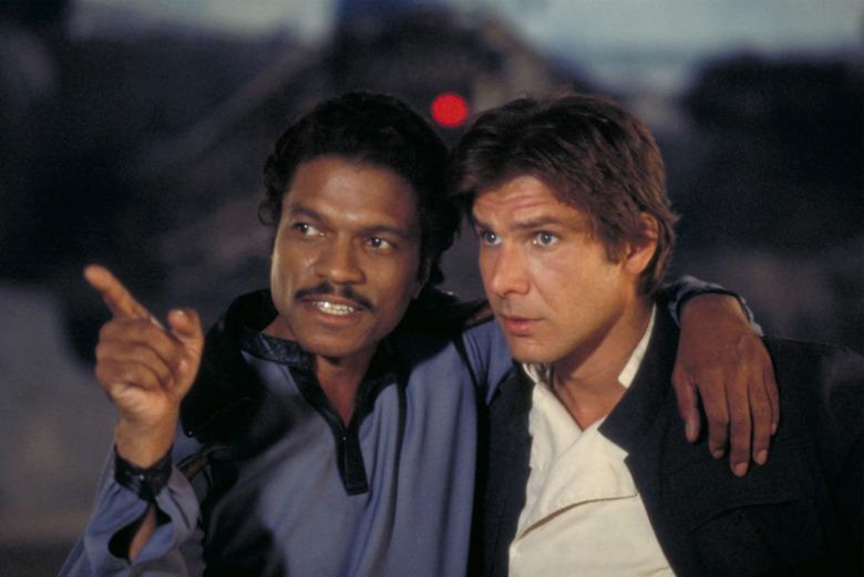 Han Solo Lando Calrissian