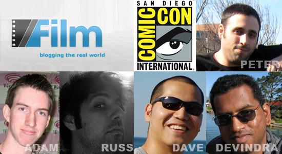 /Film invades Comic-Con