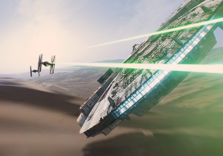 Millennium Falcon IMAX Force Awakens