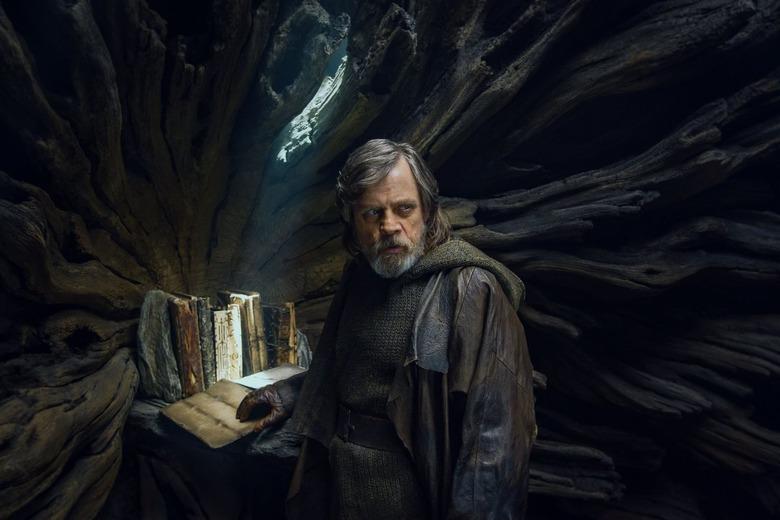 Luke Skywalker blind