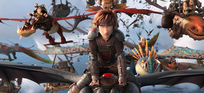 weekend box office how to train your dragon 3
