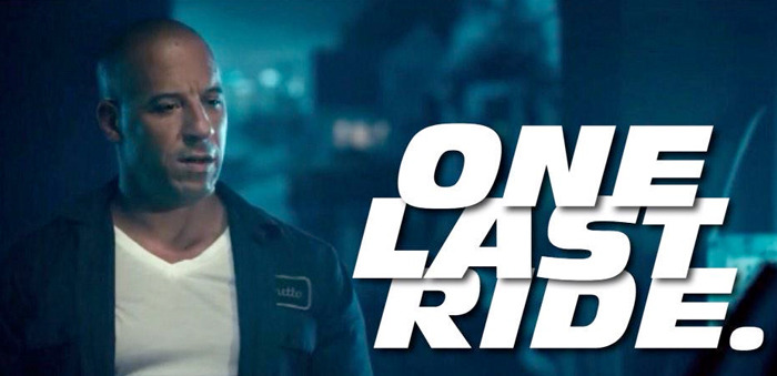 final Fast and Furious trilogy