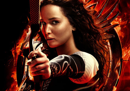 Hunger Games Catching Fire poster header