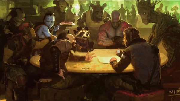 Guardians of the Galaxy Concept 3