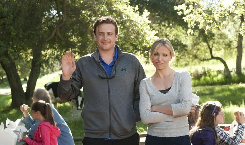 Jason Segel and Cameron Diaz in Bad Teacher