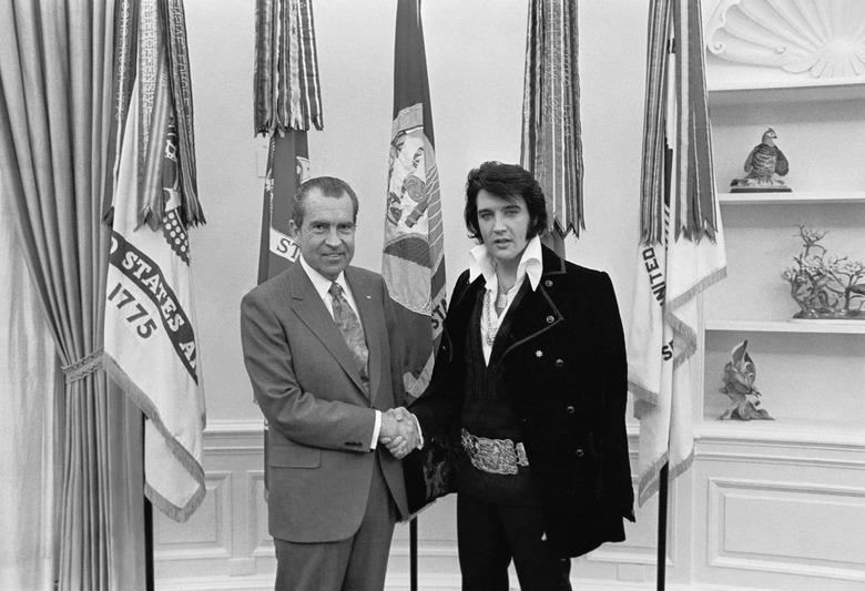 Elvis and Nixon (historical)