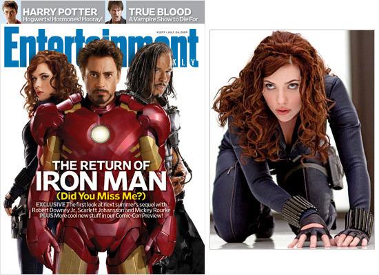 Iron Man 2 Entertainment Weekly Scarlett Johansson
