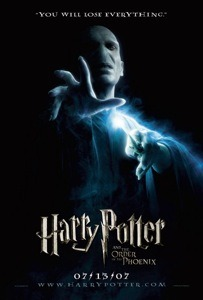 Harry Potter and The Order of The Pheonix Poster