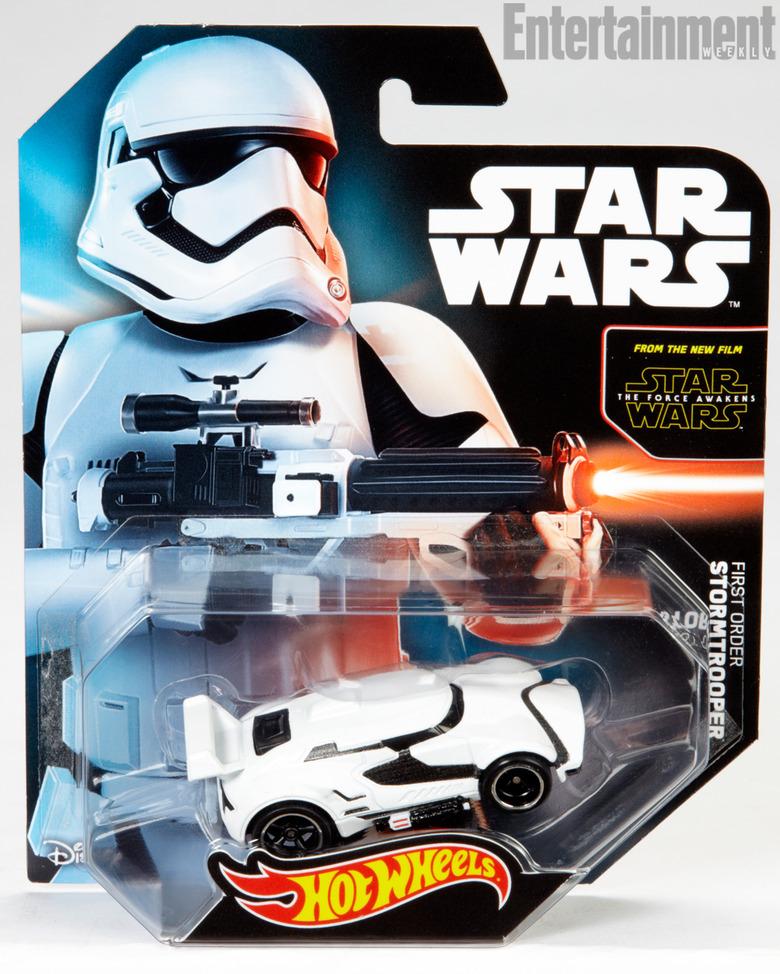 First Order Stormtrooper Hot Wheels