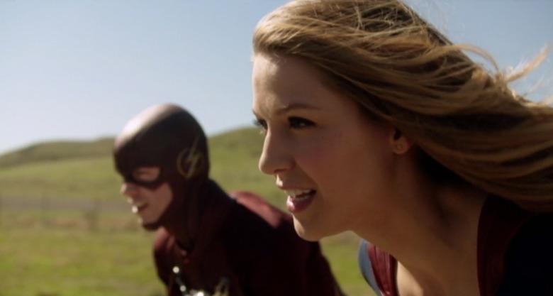 Flash Supergirl musical crossover episode