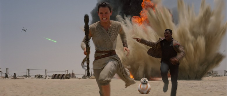 Star Wars The Force Awakens rey finn 5