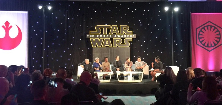force awakens press conference